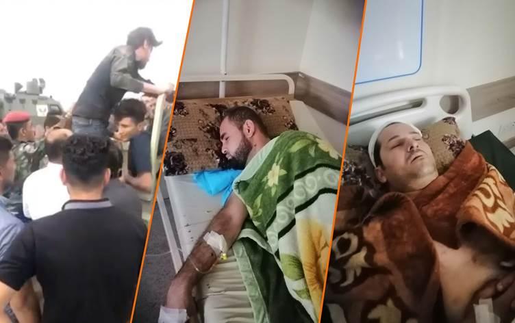 IŞİD terör örgütünün dün gece Mahmur ilçesinde 11 kişiyi kaçırdığı bildirildi. Dün gece IŞİD teröristleri Mahmur'da askeri kıyafet giyerek 11 vatandaşı kaçırdığı bildirildi. K24'ün bildirdiğine göre IŞİD teröristleri kaçırdıkları 11 kişiden 5'ini serbest bırakırken 6 kişi yanlarında götürdüğü kaydedildi. IŞİD teröristlerinin kontrol noktasında bazı araçlara ataş açtığı bir kaç kişiyi yaraladığı da öğrenildi. IŞİD'in kaçırdığı 6 kişiden 2'sinin Arap, 2'sinin de Kürt olduğu öğrenildi.