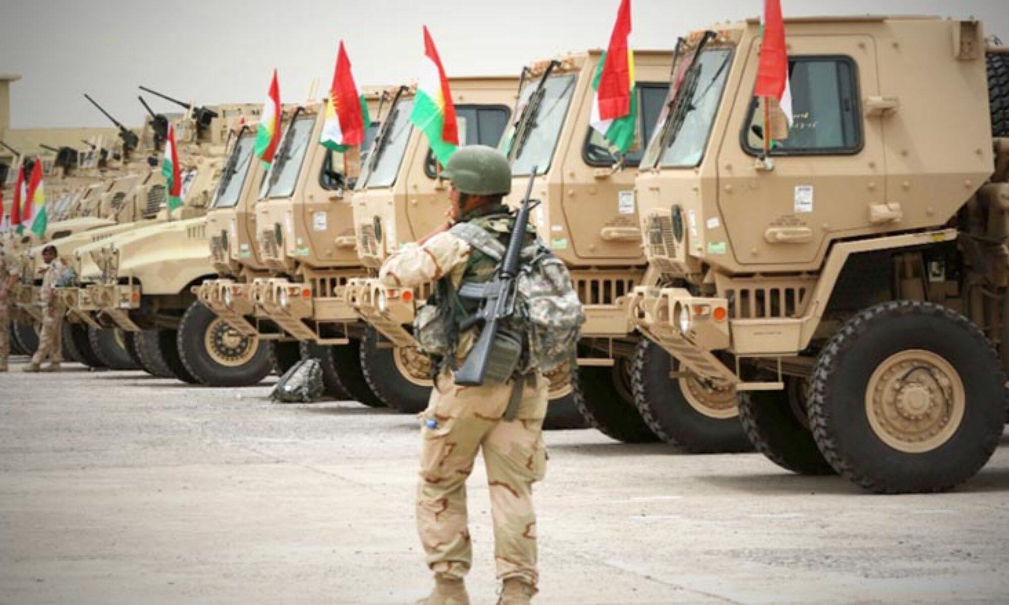 Koalisyon Güçleri danışmanı Burroughts: Peşmergeye askeri araç takviyesi yapıldı
