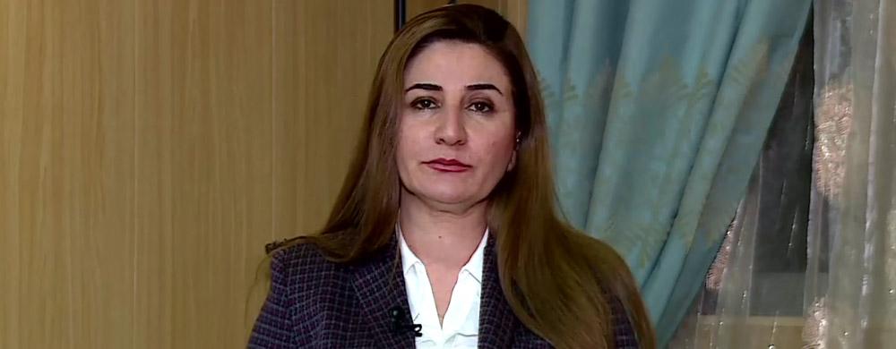 Şengal'in Ezidi kadın adayı Viyan Daxil: Parlamento PKK'nin Şengal'den çıkması için kanun çıkarmalı