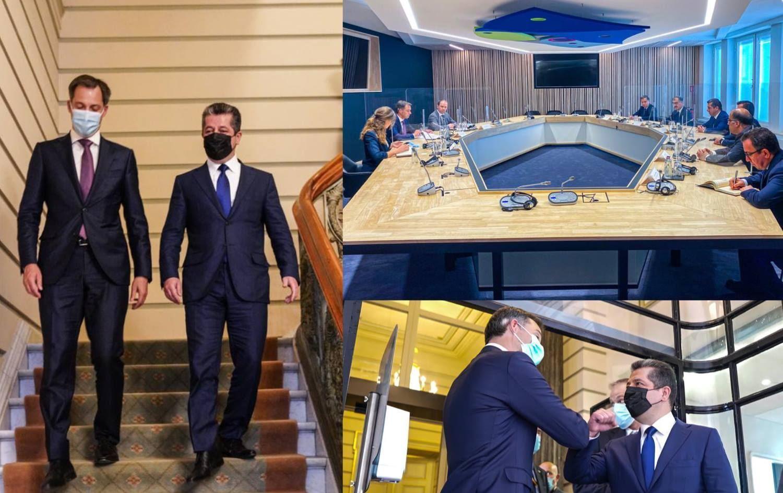 Başbakan Barzani'ni ziyaretinin sonuçları: Belçika Ticaret Odası Erbil'de