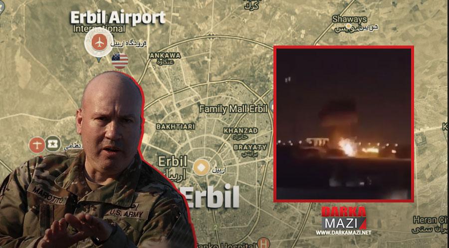 Koalisyon Sözcüsü dün Erbil Uluslararası Havalimanına yapılan saldırıya dönük açıklama yaptı