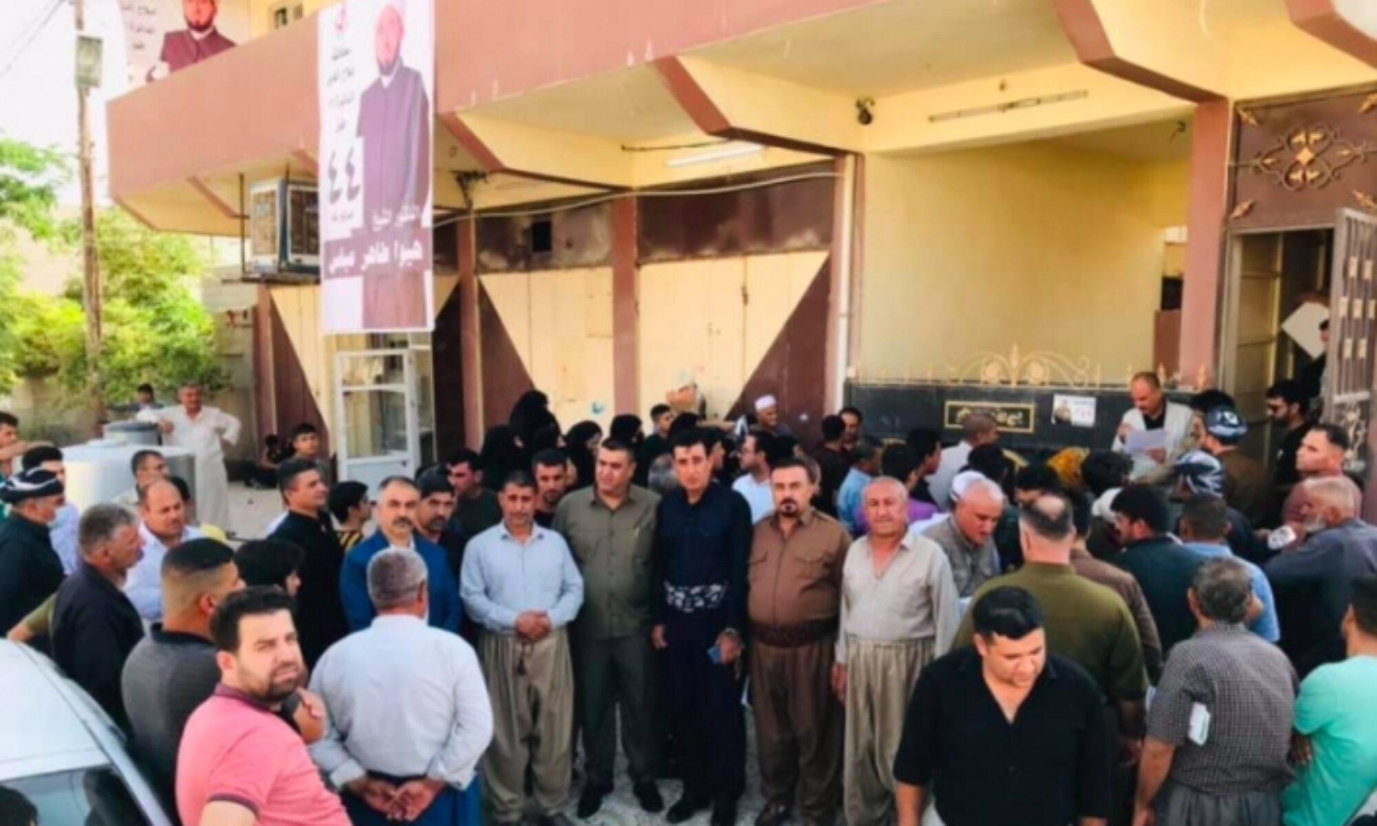 """Haşdi Şabi ve Irak işgali altındaki Xurmatû'da bir kez daha """"Referanduma Evet"""" dendi"""