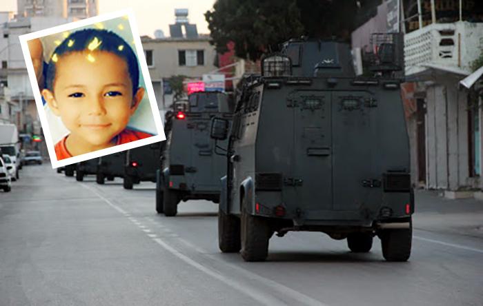 Sömürgeci pişkinliği: Zırhlı araç çarpan 5 yaşındaki Efe'nin babası kusurlu bulundu
