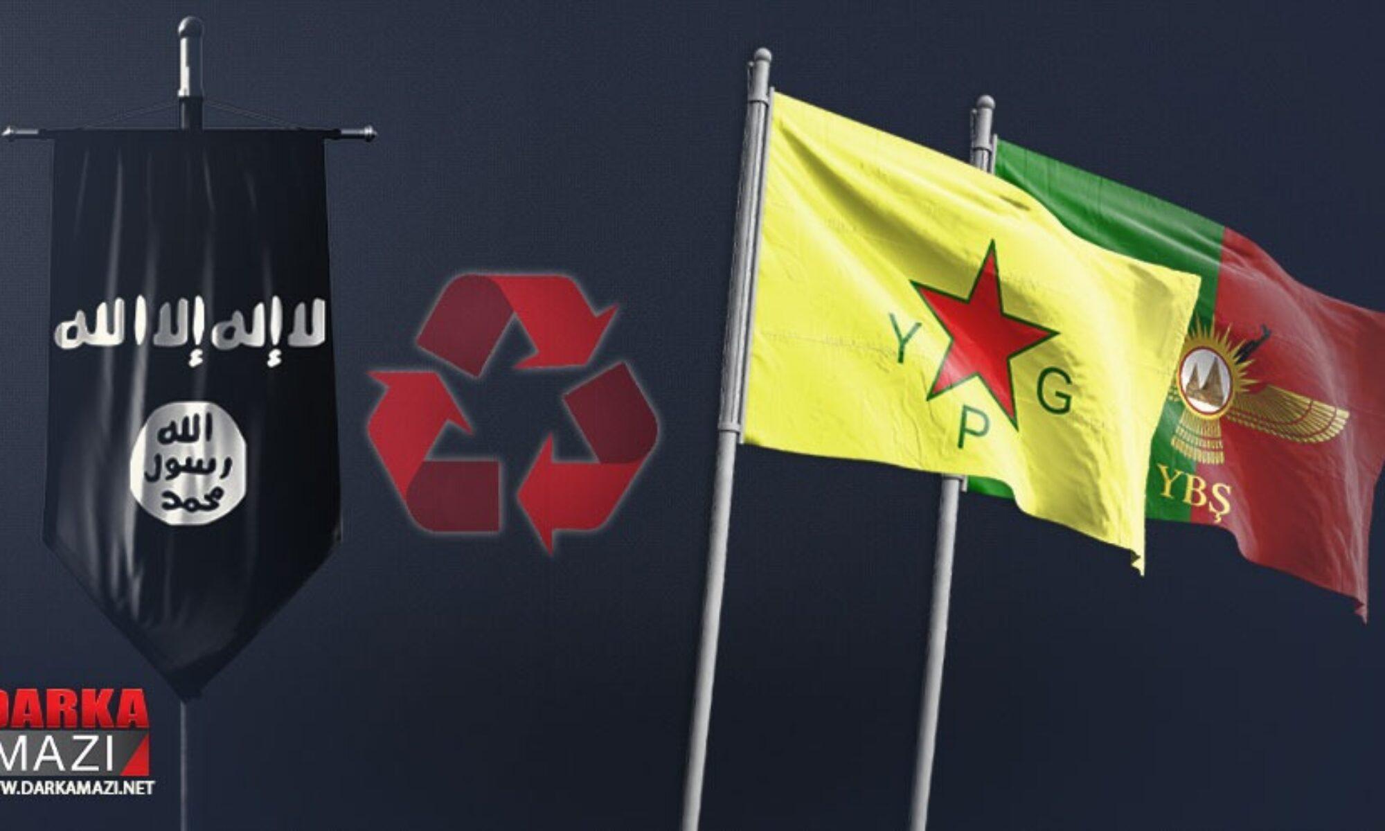 PKK saflarındaki IŞİD'liler El Nusra, YPG, YBŞ, Şengal, Barzani, Şengal'i kurtarma operasyonu,