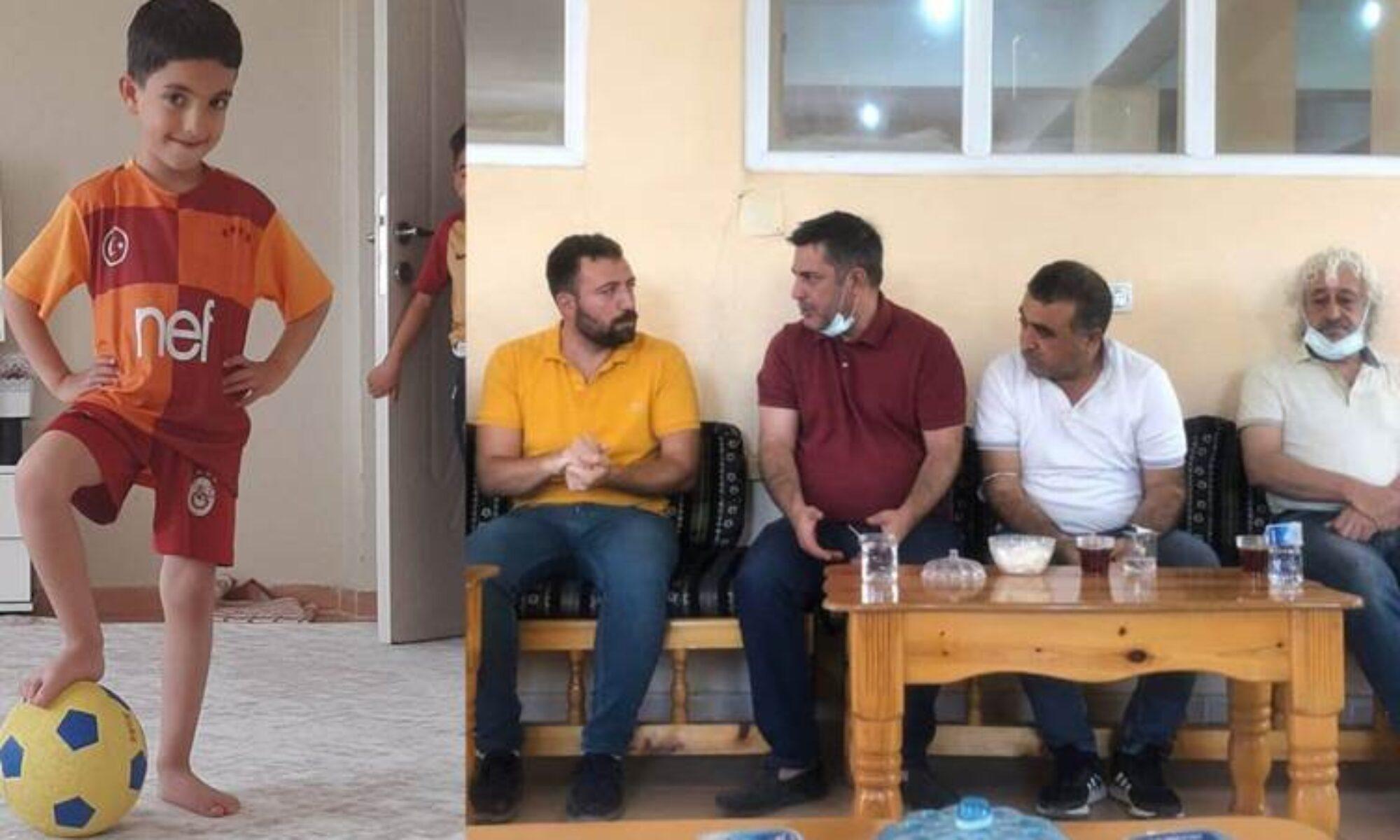 KDP-Bakur heyeti Mihraç Miroğlu için Hezex'teydi