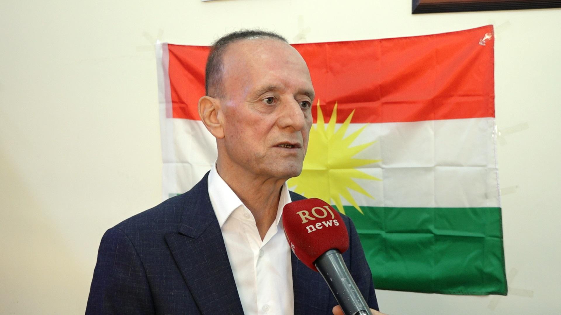 Roj News'in haberi çarpıttığı ortaya çıktı, fraksiyon başkanı tekzip istiyor Mihêdîn Hesen Kürdistan, Azadi fraksiyonu