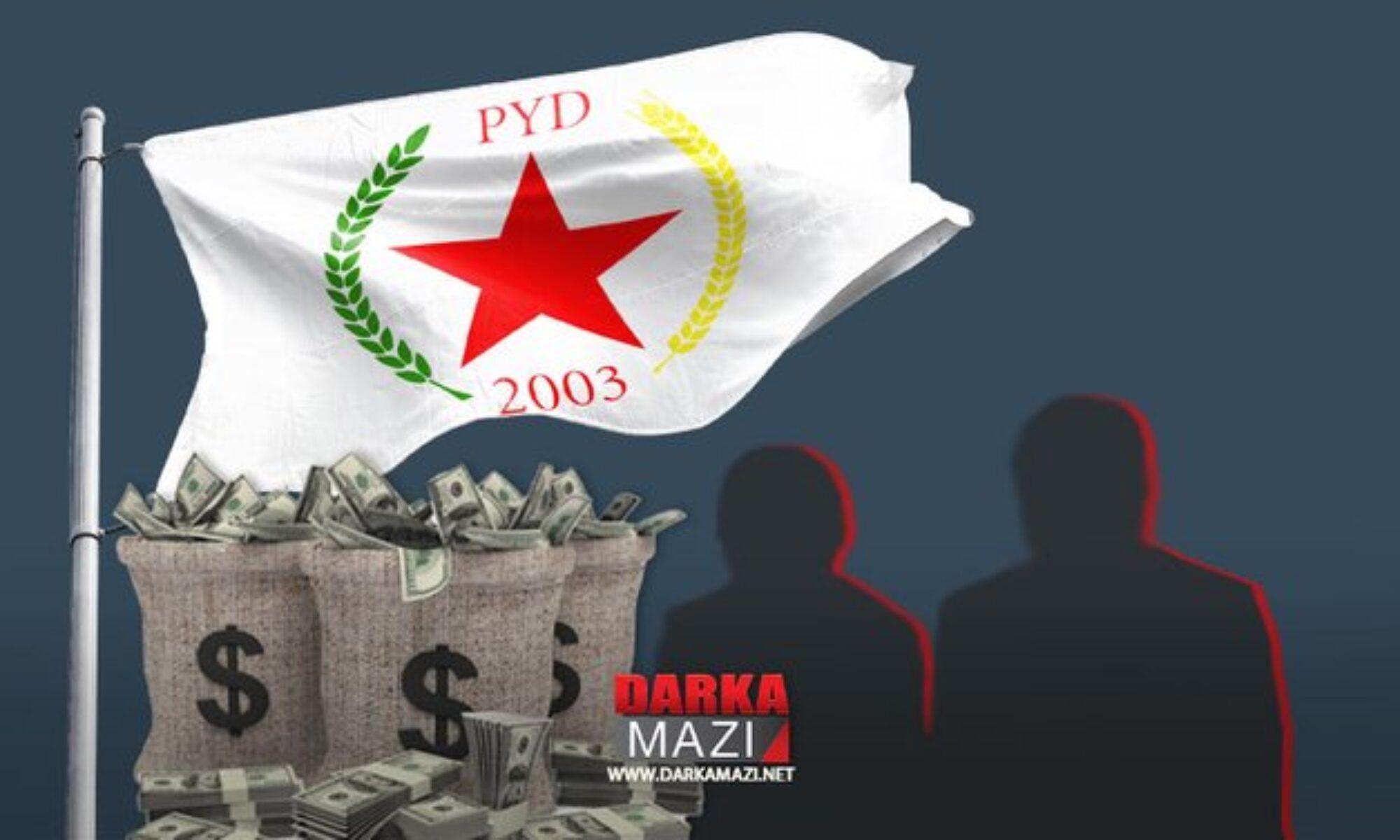 PYD'de yönetiminde üç yeni zimmetine para geçirme vakası