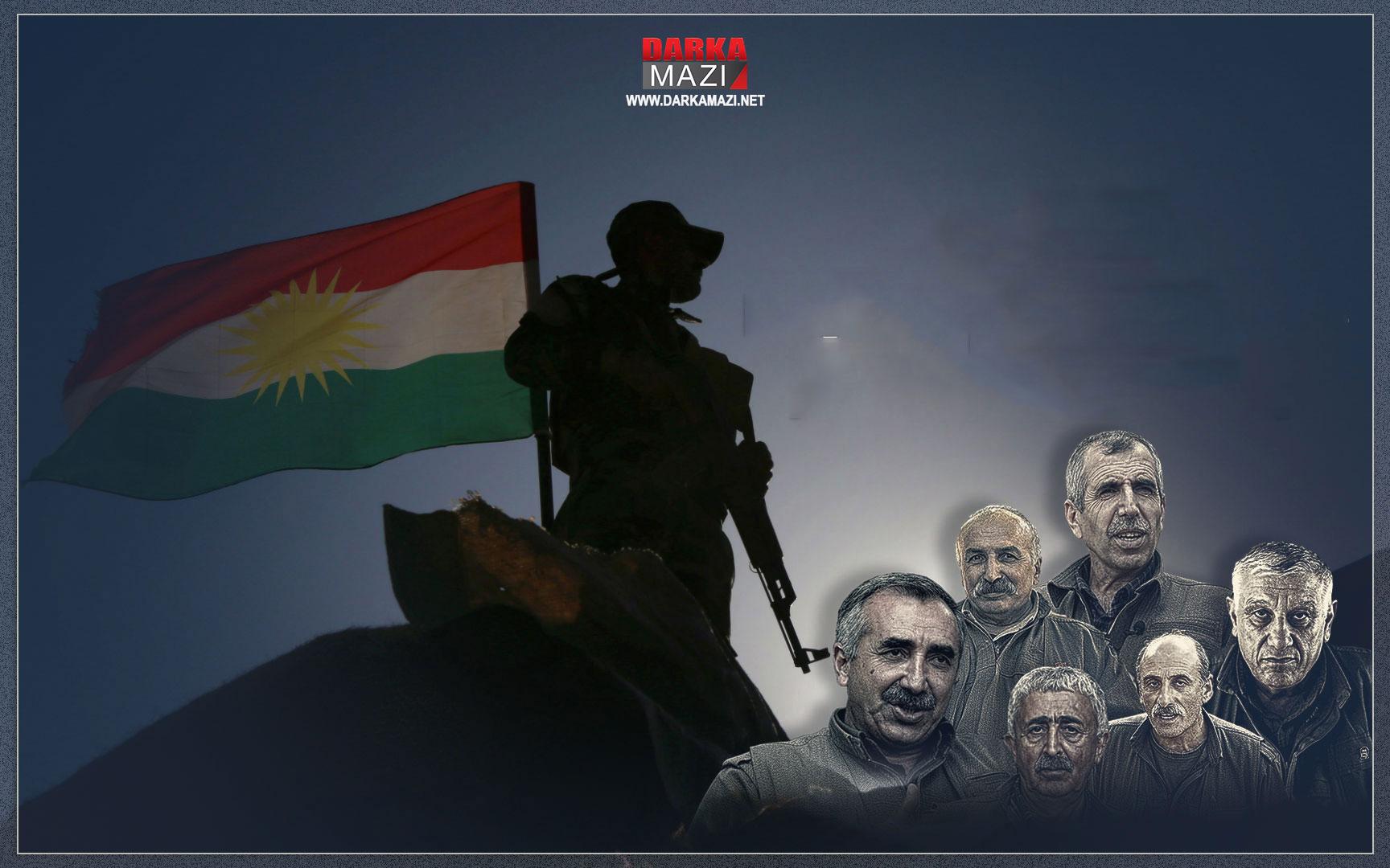 PKK medyası binlerce şehidi olan Peşmergeye çete dedi ANF, Mustafa Karasu, Bese Hozat, Zirevani, Metina, Amediye