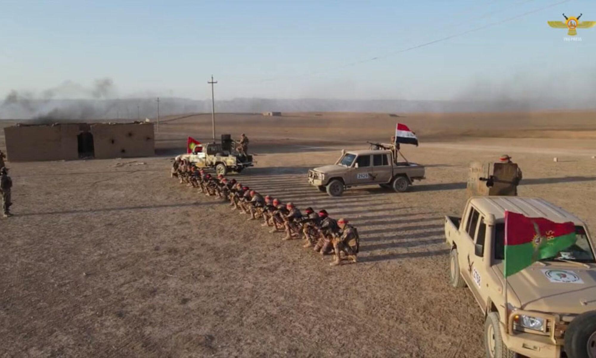 Haşdi Şabi ve PKK'nin Kürtler için tehlikeli ortak askeri tatbikatı sona erdi Şengal, Ezidi, İran Şii, Irak, Erbil Dron saldırısı, Irak