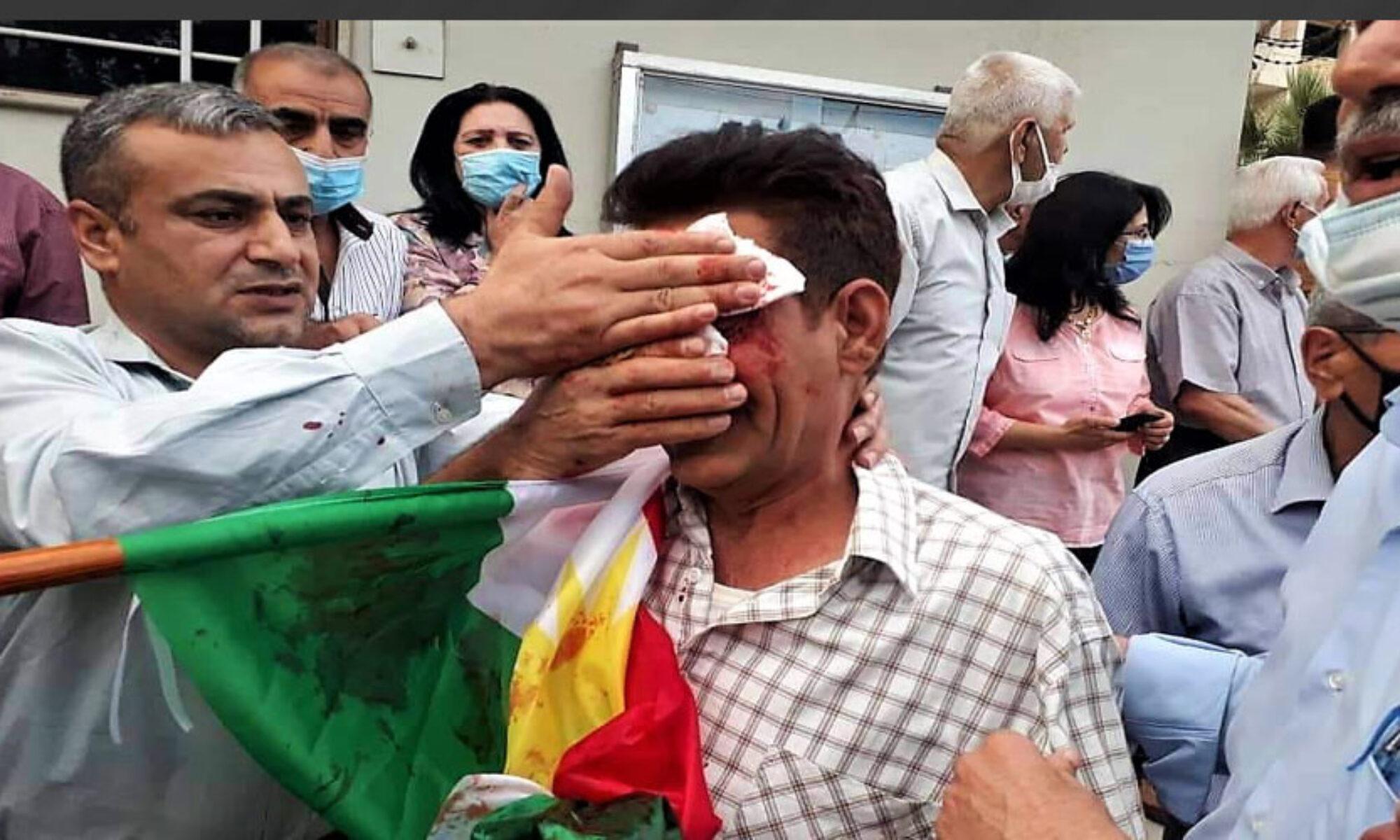 PKK'ye bağlı çeteler Qamişlo'da sivil halka saldırdı