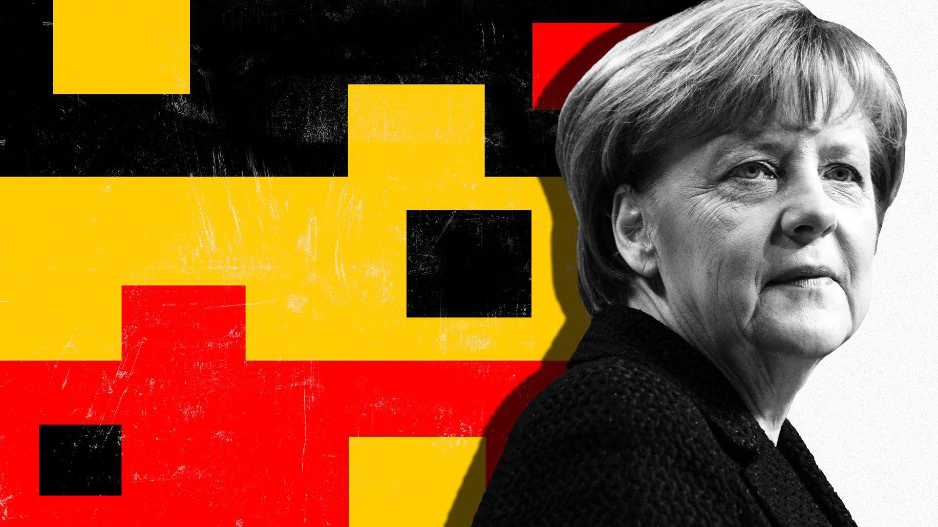 Merkel: SPD liderliğinde sol eğilimli koalisyon hükümeti Almanya için iyi olmaz