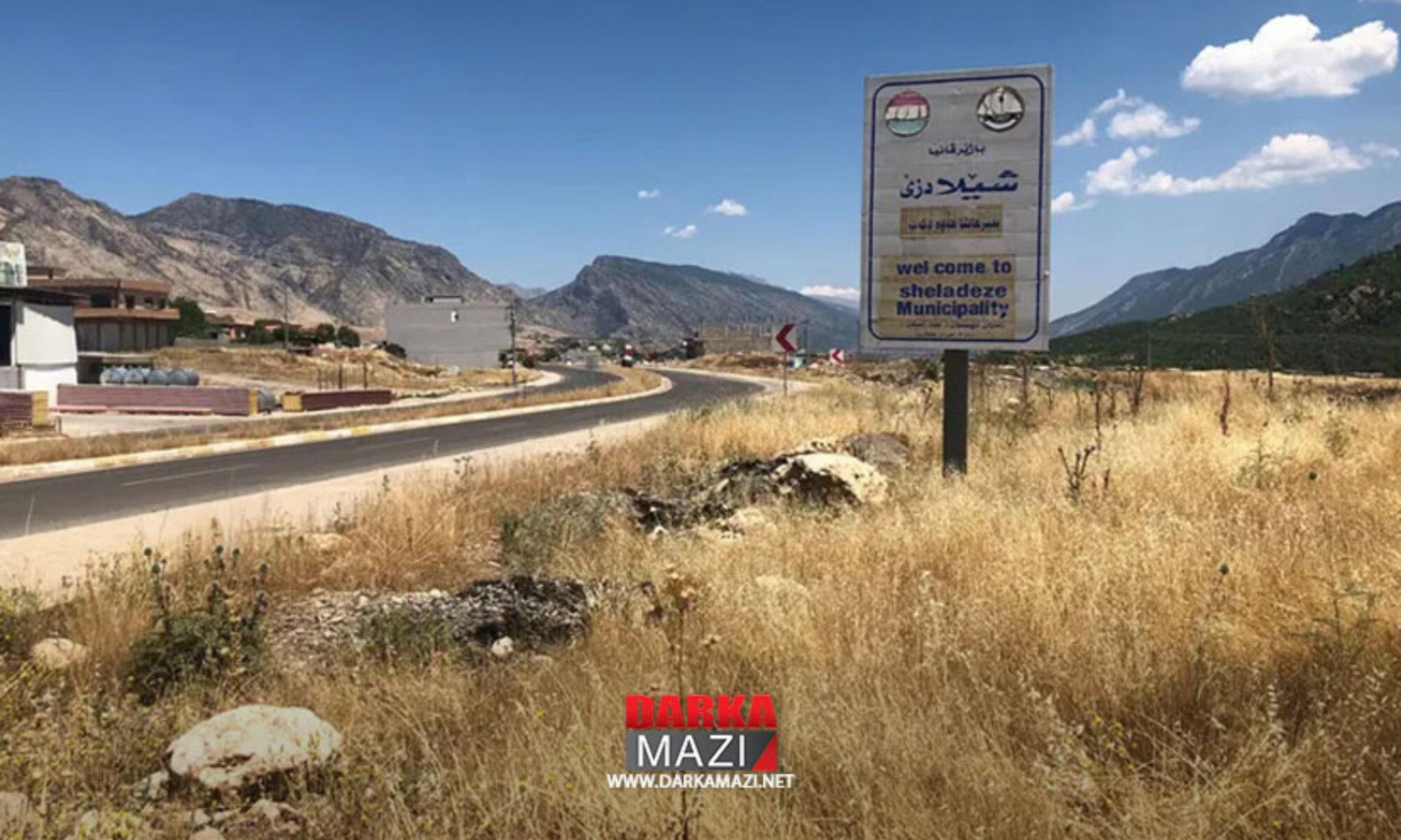 Türk ordusunun bombardmanı sonucu Şeladize'de iki sivil yaralandı Sida, Rekani, PKK; TSK
