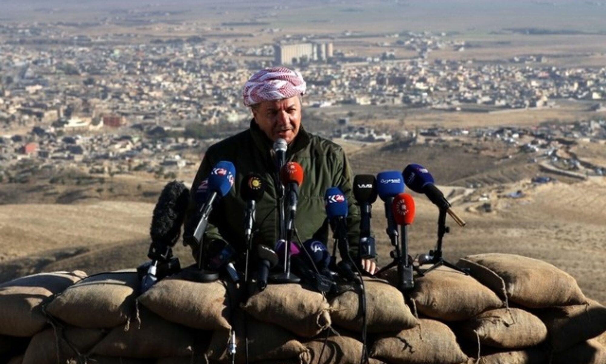 Mesut Barzani: Ezidilerin özgür bir şekilde kendi gelecekleriyle ilgili karar verebilmeli