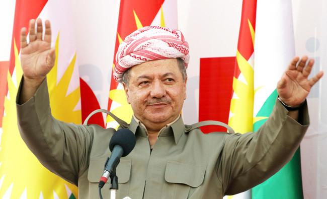 """Barzani seçim başarısını kutladı, özel bir teşekkür de """"Kürdistan'ın kalbi Kerkük"""" için yapıldı"""