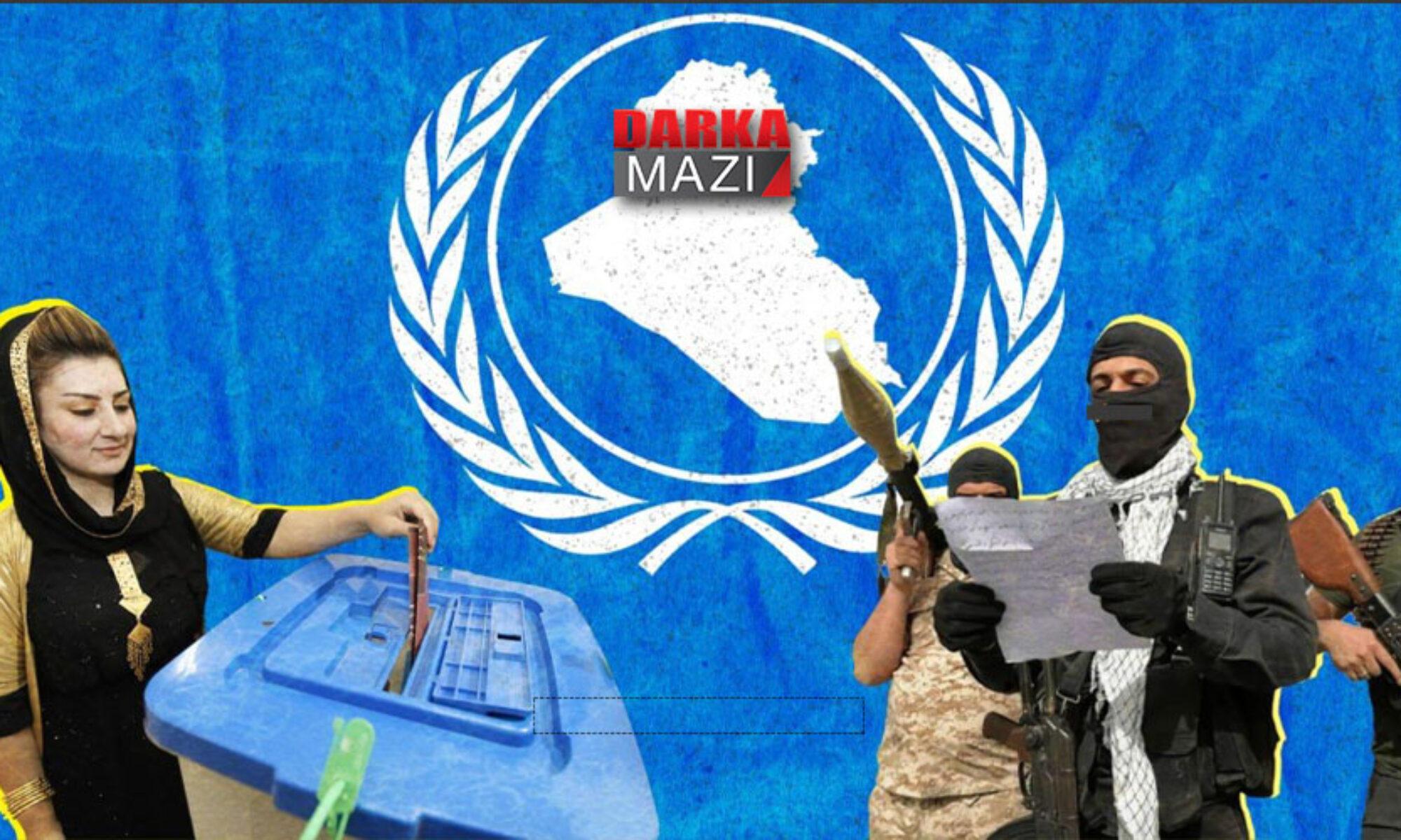 PKK Irak seçimlerinde Haşdi Şabi adaylarını destekliyor Hawer Nêrweyi, Şengal, Xanaqin, Kurdistan Bölgesi,