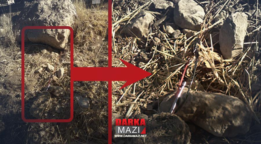PKK yine Peşmergelerin yoluna mayın döşedi