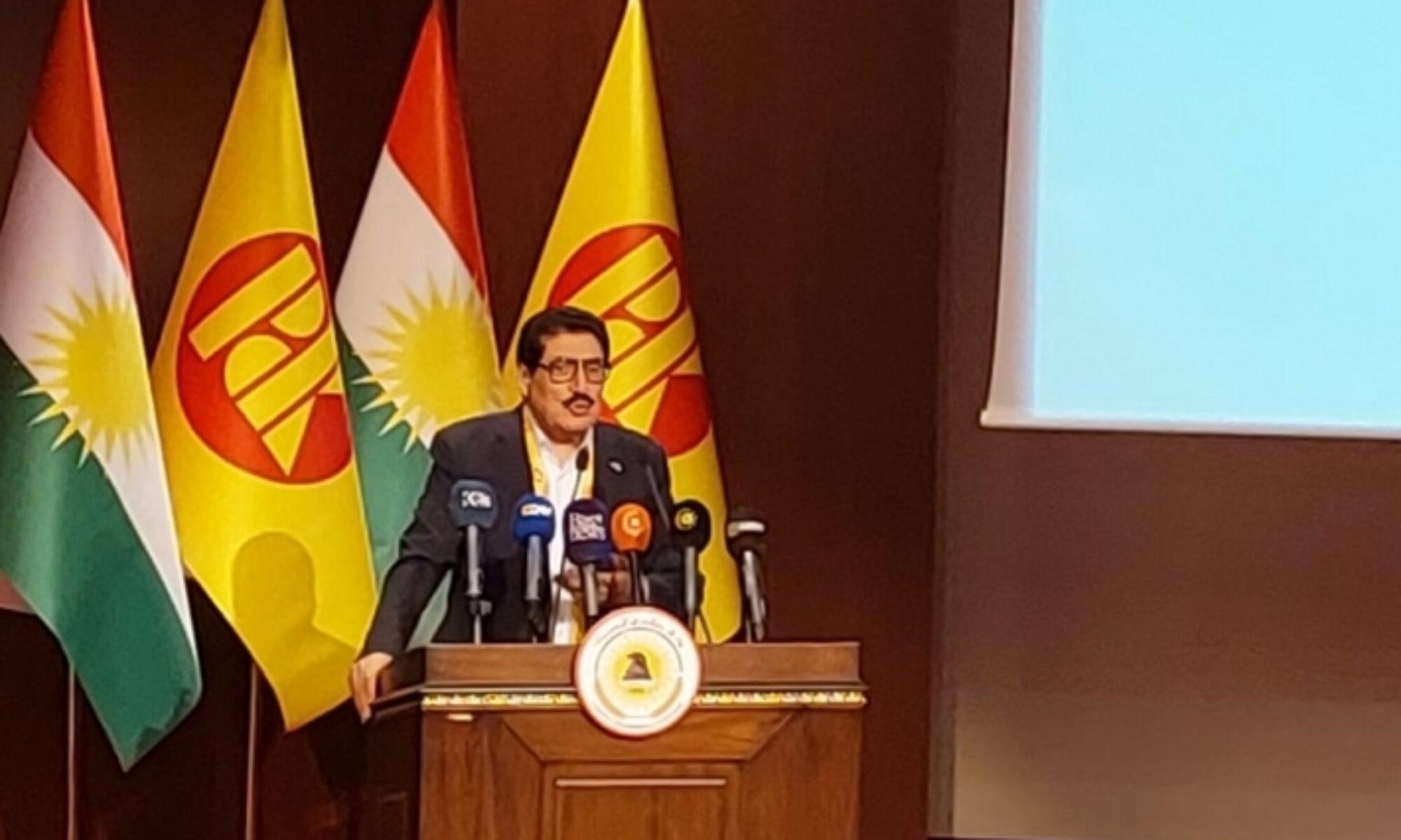 Fazıl Mirani: PDK 75 yıldır Kürtleri ve Kürdistan'ı savunmak için ayakta